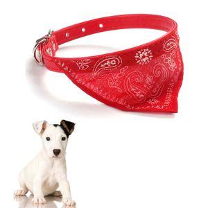 Haustier Hund Katze Welpen Halsb?nder Schal Halstuch Halskette Rot