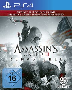 Assassin's Creed 3 Remastered - Konsole PS4