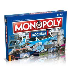 Monopoly Bochum Stadt City Edition Gesellschaftsspiel Brettspiel Spiel