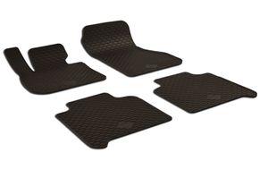 Gummifußmatten passend für BMW 2er (F46) (2014-) Gran Tourer 4-teilig schwarz
