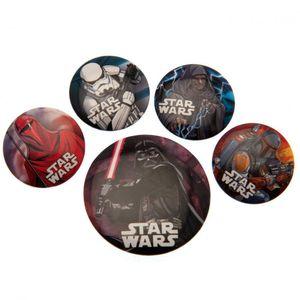 Star Wars Ansteckbutton-Set TA1686 (Einheitsgröße) (Bunt)