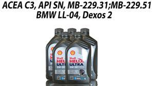 Shell HELIX ULTRA ECT C3 5x1 Liter
