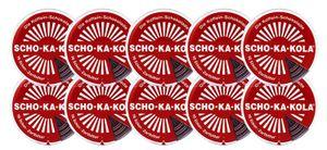 10 x Scho-Ka-Kola Zartbitter 100g Dose