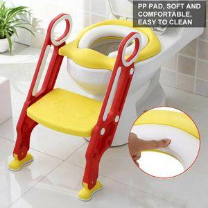 3 in 1 Toilettentrainer Kinder Toilettenaufsatz WC Sitz mit Treppe Baby Lerntöpfchen