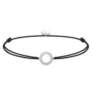 Thomas Sabo Damen-Armband Little Secrets 925 Silber Zirkonia weiß 20 cm - AIR-LS010-401-11