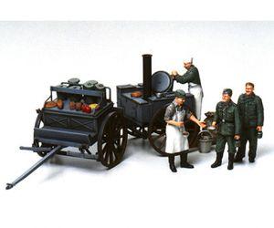 Tamiya 1:35 Diorama-Set Feldküche (4