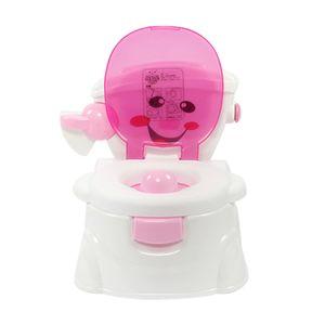 Töpfchen Toilette Kinder Toilettensitz Töpfchen Urinal Rosa Baby Training Toilette Stuhl Toilettentrainer Baby WC Lerntöpfchen Töpfchen