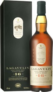 Lagavulin 16 Jahre Islay Single Malt Scotch Whisky in Geschenkpackung | 43 % vol | 0,7 l