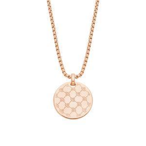 Joop! Damen Halskette 2024477 Sterling Silber rosé-vergoldet