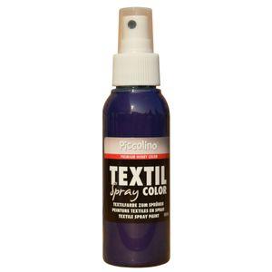 PICCOLINO Textil Spray - 100ml Ultramarinblau - Textilfarbe zum Sprühen