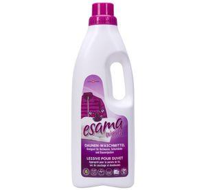 Esama wash 1L Daunenwaschmittel Waschmittel für Textilien Daunen Decken Daunen Jacken