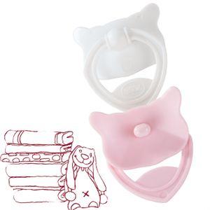 Götz Puppenmanufaktur Schnuller rosa/weiß