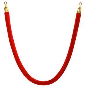 Arebos Kordel für Personenleitsystem rot-gold - direkt vom Hersteller