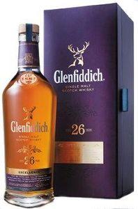 Glenfiddich 26 Jahre Single Malt Scotch Whisky   43 % vol   0,7 l
