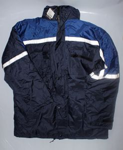 UVEX ELUTEX Malta Arbeitsjacke 8002 dunkelblau Winter-Jacke Warnschutzjacke, Größe:XL