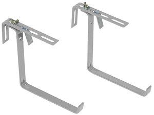 Emsa Basic Blumenkastenhalter, Aluminium , 508699