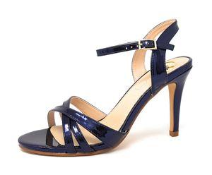 Buffalo Anja Damen Sandale in Blau, Größe 37