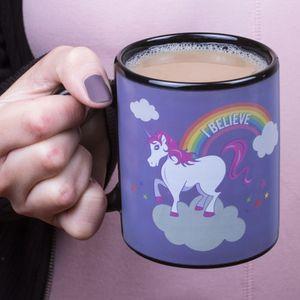 """ThumbsUp! Tasse """"Einhorn"""" (Unicorn Heat Change Mug) - mit Farbwechsel"""