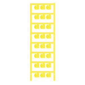 Weidmüller Leitermarkierer SlimFix Clip SFC 0/12, gelb (PACK à 200 STÜCK)