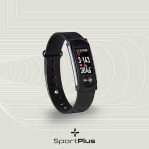 SportPlus Fitness Tracker mit Farbdisplay, Pulsmesser, Schrittzähler, Schlafüberwachung, Weckerfunktion, SP-AT-BLE-100