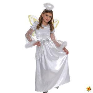 Kinderkostüm Engel Silvana, Größe:4 - 6 Jahre