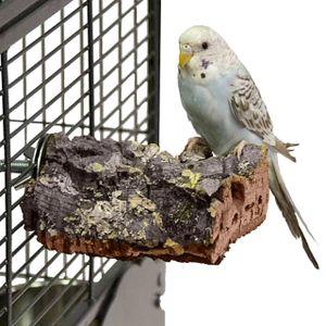 Vogel-Sitzbrett aus Natur Kork -  Small