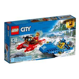 LEGO® City Flucht durch die Stromschnellen, 60176