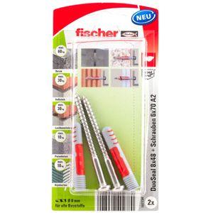 fischer DuoSeal 8 x 48 S PH TX A2 K (Blister á 2 Stück)