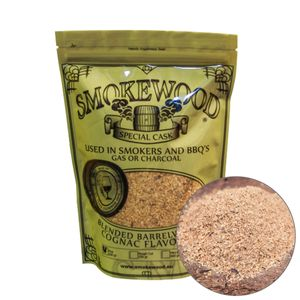 Smokewood Cognac Fine - Räucher-Mehl aus alten Cognacfässer