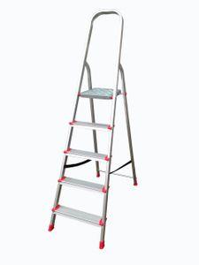 Leiter Aluleiter Trittleiter Haushaltsleiter Alu Malerleiter Stufenleiter 5 Stufen