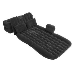 PVC Luftbett Matratze Bett Reisebett Gästebett Luftmatratze für Auto Rücksitz mit Luftpumpe