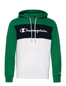 CHAMPION Hooded Sweatshirt GS040 UMG/WHT/NNY XL