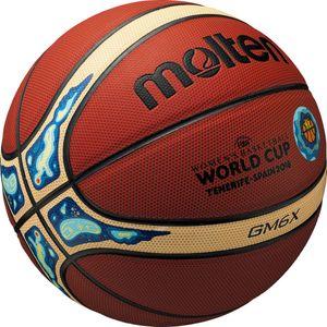 molten GMX - indoor outdoor Basketball - Synthetik Leder FIBA, Ballgröße:6, Modell:FIBA