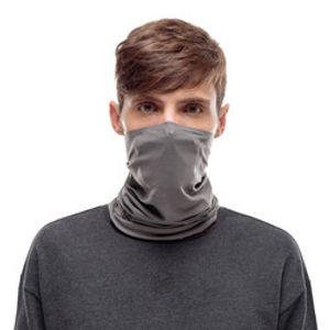 BUFF Filter Tube Gesichtsmaske Schlauchschal solid grey castlerock M/L