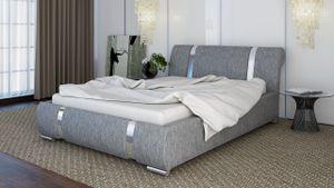 Polsterbett Bett Doppelbett CHLOE 180x200cm inkl.Bettkasten