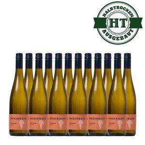 Weißwein Rheinhessen Scheurebe Weingut Dackermann Gutsriesling halbtrocken (12 x 0,75 l)