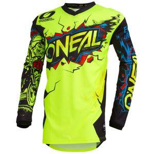 O'NEAL Kinder Jersey Element Villain Youth , Neon Gelb, XL