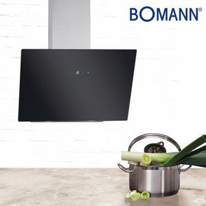 Bomann Kopffreie Vertikal-Haube DU 7604 G mit Touch Control und LED