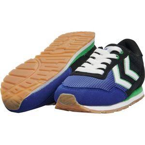 Hummel Jungen Sneaker Reflex Jr. Turnschuhe, Farbe Hummel:Blau, Größe:37