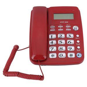 Mllaid Schnurgebundene Telefone, Schnurgebundenes Festnetztelefon mit Anruferidentifikation Telefon Freisprecheinrichtung für Büro, Haus, Hotel.