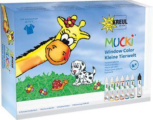 "KREUL Window Color Pen ""MUCKI"" 7er Set auf Wasserbasis"