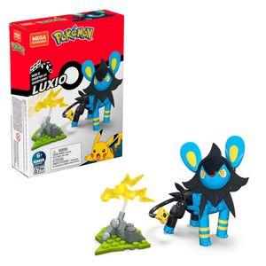 Mega Construx Pokémon Luxio, Kinder-Spielzeug, Bauset, Bausteine