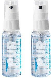 PUR CLASSIC Antibeschlag Spray| PREMIUM  Germany | universell einsetzbar | ideal geeignet für Brillen, Skibrillen, Sportbrillen u. Taucherbrillen, Autoscheiben,Helmvisiere, Bad, Visiere 30 ml + 30 ml