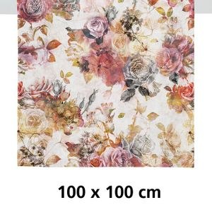 Tischdecke FALL rot/rose 100x100 (2708 100X100 Col. 30)