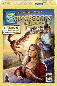 Hans im Glück Carcassonne, Burgfräulein und Drache, Erweiterung 3