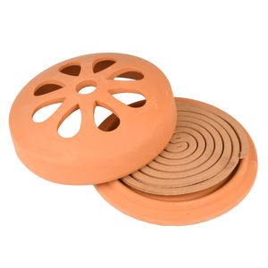 Esschert Citronella Rauch Spiralen Terrakotta Anti Mücken Insekten Schutz Abwehr