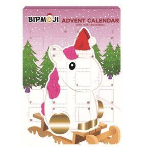 Einhorn - BIP Adventskalender mit Schokolade, Schoko Weihnachts Kalender