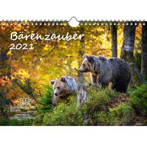 Bärenzauber DIN A4 Kalender für 2021 Bären - Seelenzauber