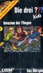 Die drei Fragezeichen-Kids, Cassetten Invasion der Fliegen, 1 Cassette