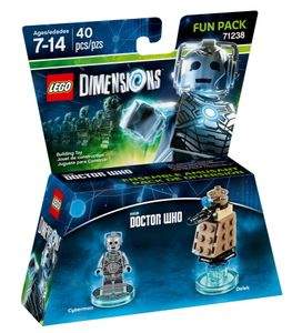 Lego Dimensions Fun Pack Doctor Who - Cyberman